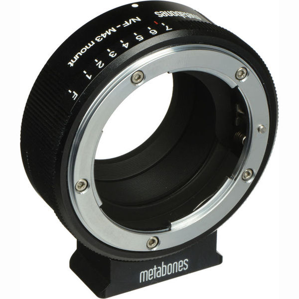 Metabones nikon g lens to micro four thirds lens mount adapter