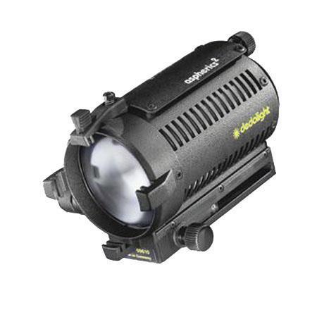 Dedolight dlh 4 150 watt spotlight with dt24 1 dimming power supply