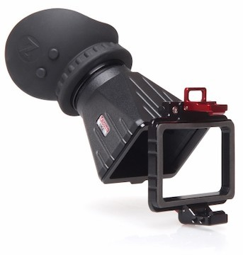 Zacuto z finder with flip up frame for sony fs7 camcorder