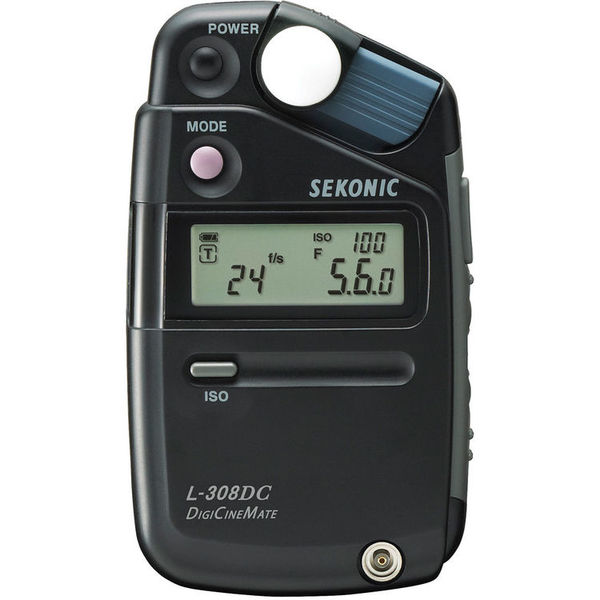 Sekonic l 308dc digicinemate light meter