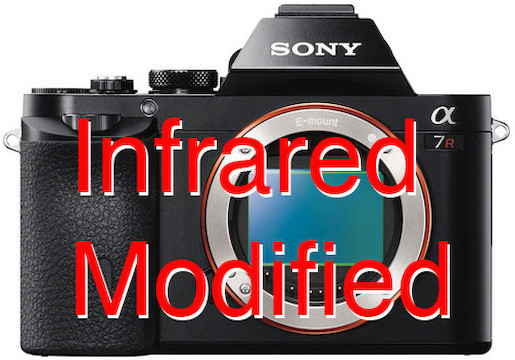 Sony alpha a7r ir modified 720nm camera