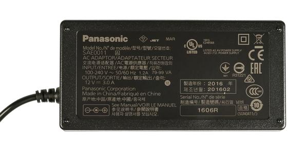 Panasonic sae0011 ac adapter