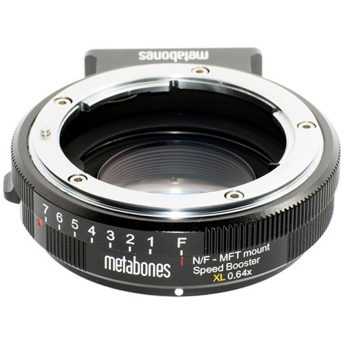 Metabones nikon g lens to micro 4 3 t speed booster xl