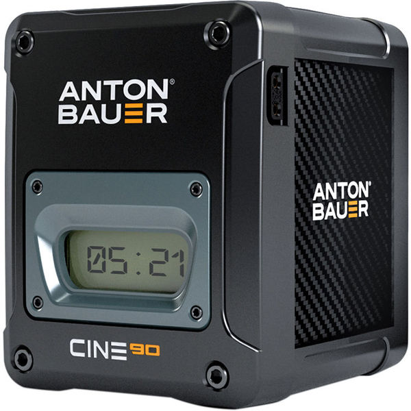 Anton bauer cine 90 v mount battery