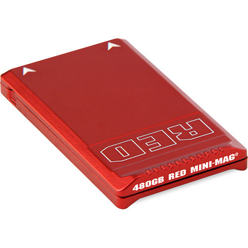 Red mini mag ssd 480gb memory card