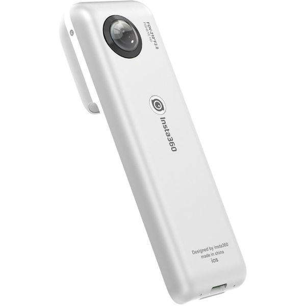 Insta360 nano spherical video camera for iphone   silver