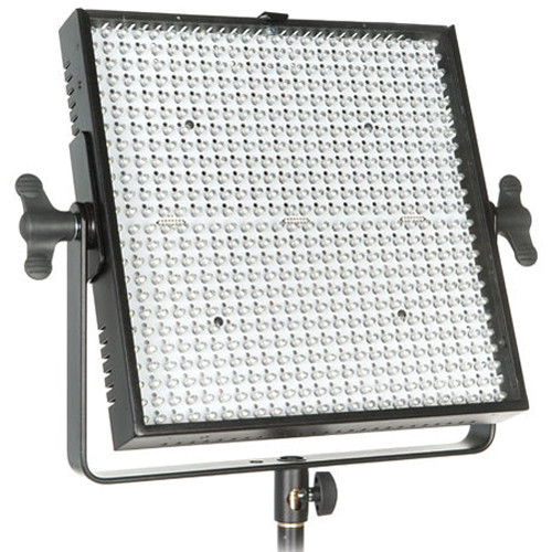 Limelite mosaic bicolor led panel with anton bauer gold mount battery plate