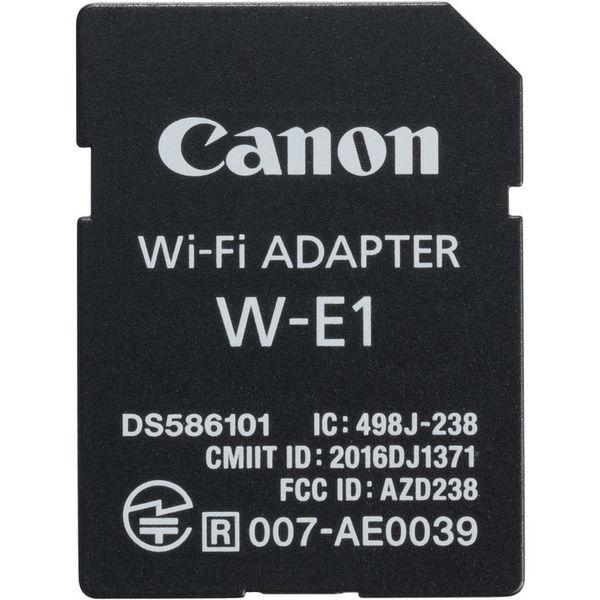 Canon w e1 wi fi adapter