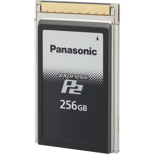 Panasonic expressp2 256gb memory card