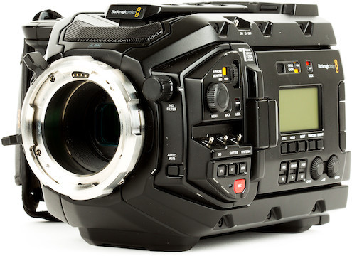 Blackmagic design ursa mini pro 4.6k digital cinema camera   pl mount