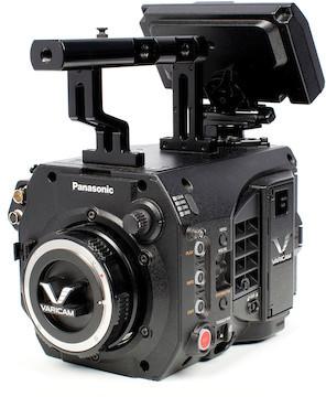 Panasonic cinema varicam lt 4k s35 digital cinema camera   pl mount