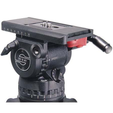 Sachtler dv 12sb fluid head %28100mm%29 and carbon fiber tripod kit %28head%29