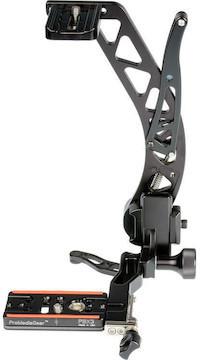 Promediagear bbx boomerang flash bracket with universal qr plate