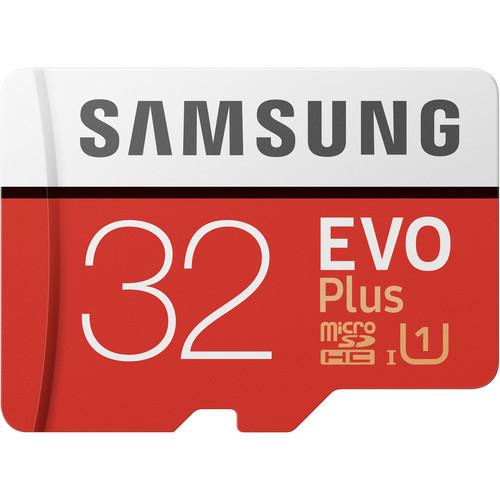 Samsung 32gb evo plus uhs i microsdhc memory card
