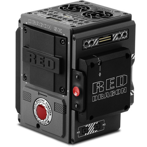 Red scarlet w brain with dragon 5k sensor