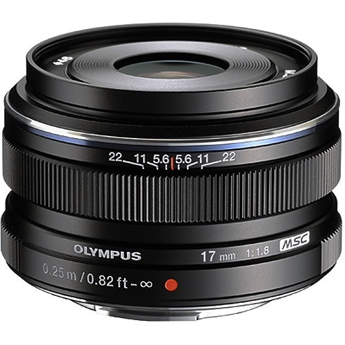 Olympus 17mm f 1.8 micro 4 3 lens