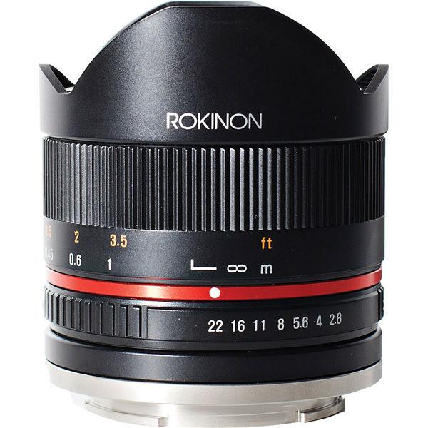 Rokinon rk8mbk28 fx 8mm f 2 8 umc fish eye 1039941