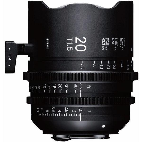 Sigma 412968 20mm t1 5 ff pl 1325906