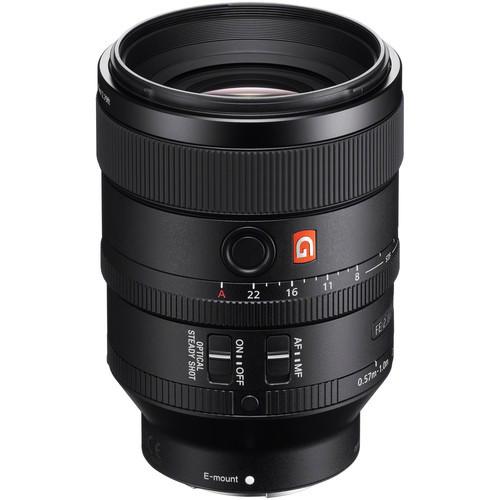 Sony fe 100mm f 2.8 stf gm oss lens