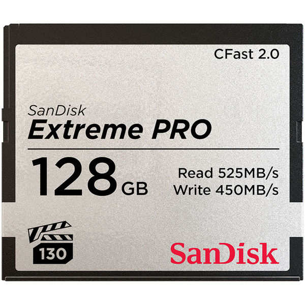 Sandisk sdcfsp 128g a46d extremepro cfast 128gb 515r 1299090