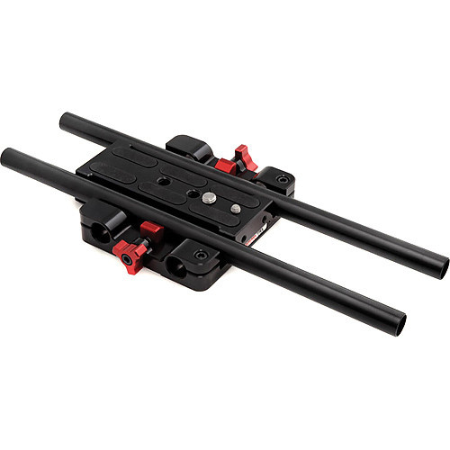 Zacuto studio baseplate with 12%22 rods for c100 c300 c500