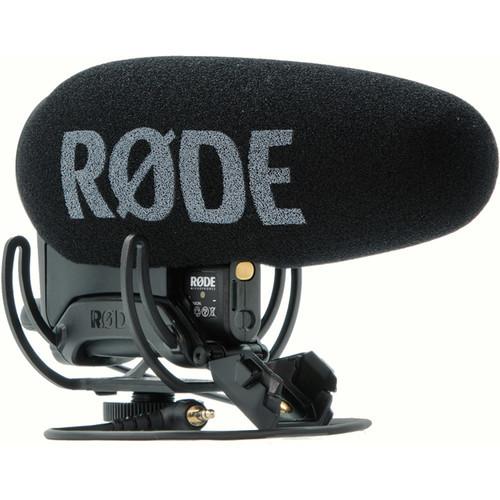 Rode videomic pro plus on camera shotgun microphone
