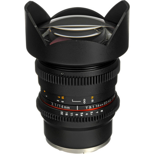 Rokinon 14mm t3.1 cine for sony e mount