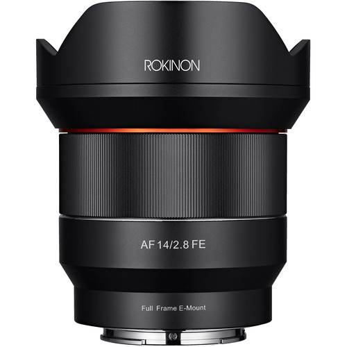 Rokinon 14mm f 2.8 af fe for sony e mount