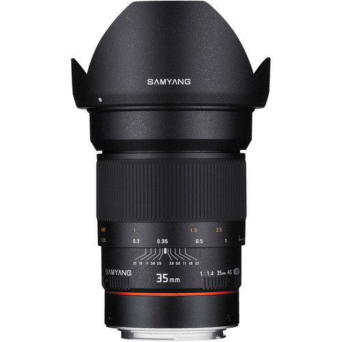 Samyang 35mm f 1.4 as umc for canon with ae chip