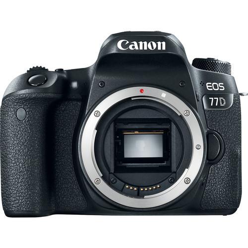 Canon eos 77d camera