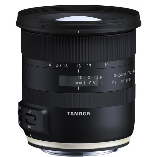Tamron 10 24mm f 3.5 4.5 di ii vc hld for canon