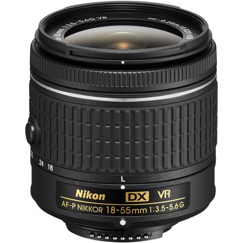Nikon 18 55mm f 3.5 5.6g af p vr dx