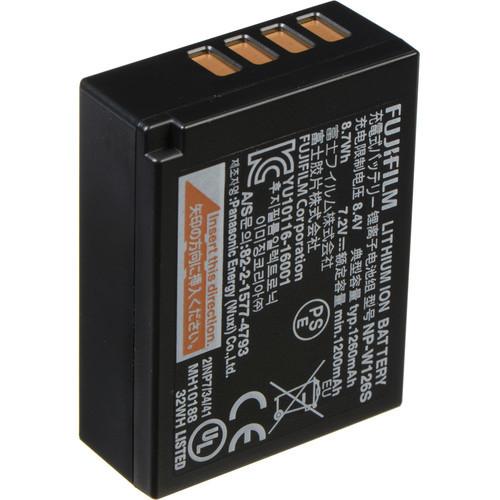 Fuji np w126s battery