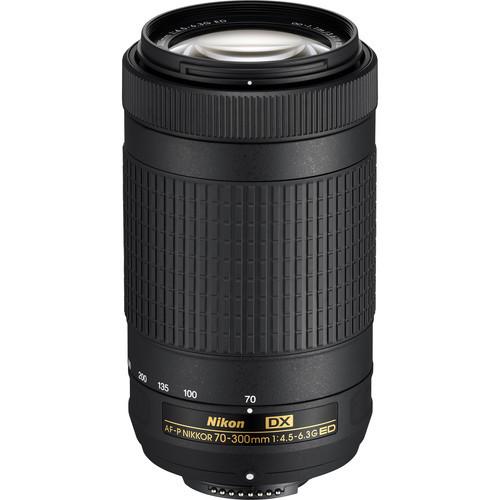 Nikon 70 300mm f 4.5 6.3g ed af p dx