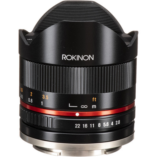 Rokinon 8mm f 2.8 umc fisheye ii lens for sony e mount