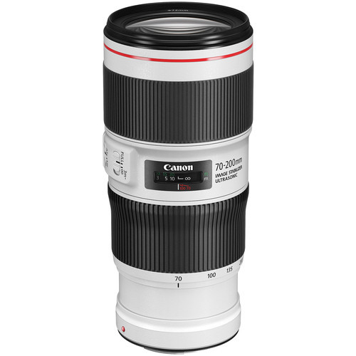 Canon 70 200mm f 4l is ii usm lens