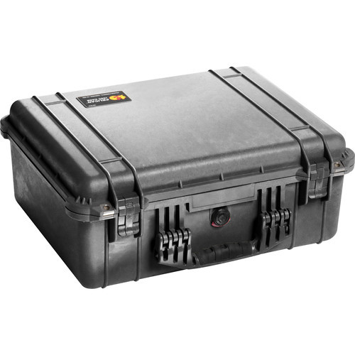Pelican 1550nf case without foam %28black%29