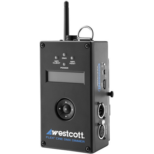 Westcott flex cine wireless dmx dimmer westcott flex cine wireless dmx dimmer
