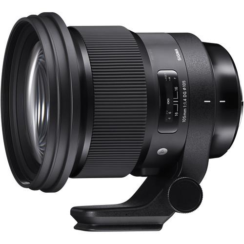 Sigma 105mm f 1.4 dg hsm art lens for nikon f