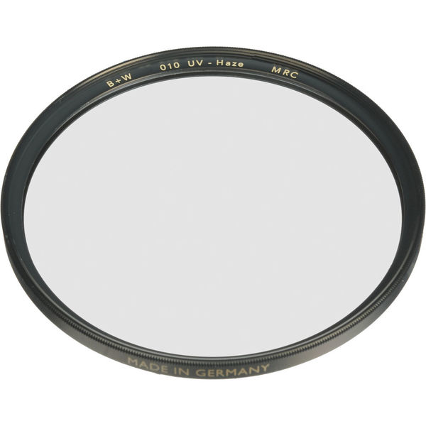 B w 95mm uv haze mrc 010m filter