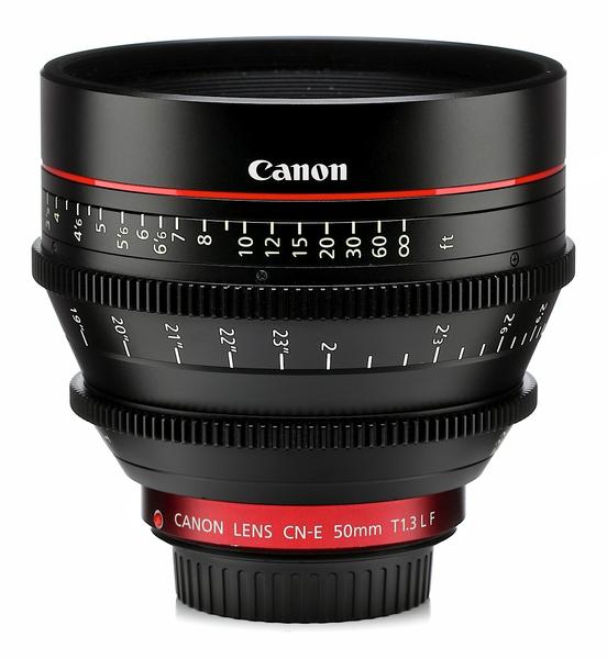 Canon cn e 50mm t1.3 l f cine lens