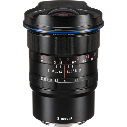 Venus optics laowa 12mm f 2.8 zero d lens for sony e