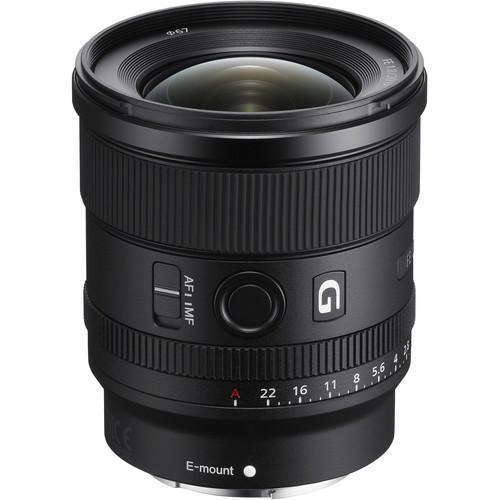Sony fe 20mm f 1.8 g lens