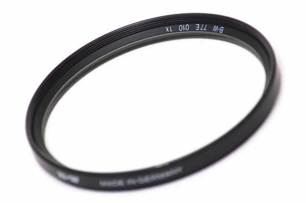 B w 77mm 77e 010 uv filter