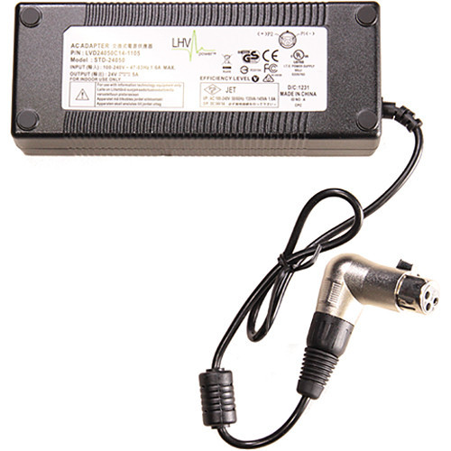 Litepanels ac power supply for sola 6  inca 6  and astra 1x1 series led lights