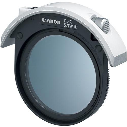 Canon drop in circular polarizing filter pl c 52 %28wiii%29