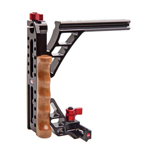 Zacuto halfcage rail for zacuto vct universal baseplate