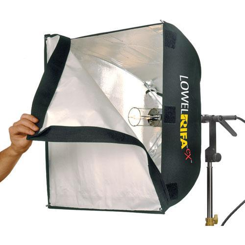 Lowel lc55ex rifa lite ex 500 watt softbox light 369983546229  14667