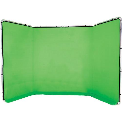Lastolite 13' panoramic background w  chroma key green cover