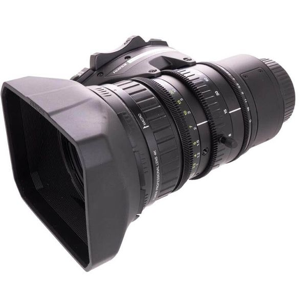 Fujinon la16x8brm 4k 2 3 inch lens for blackmagic ursa broadcast